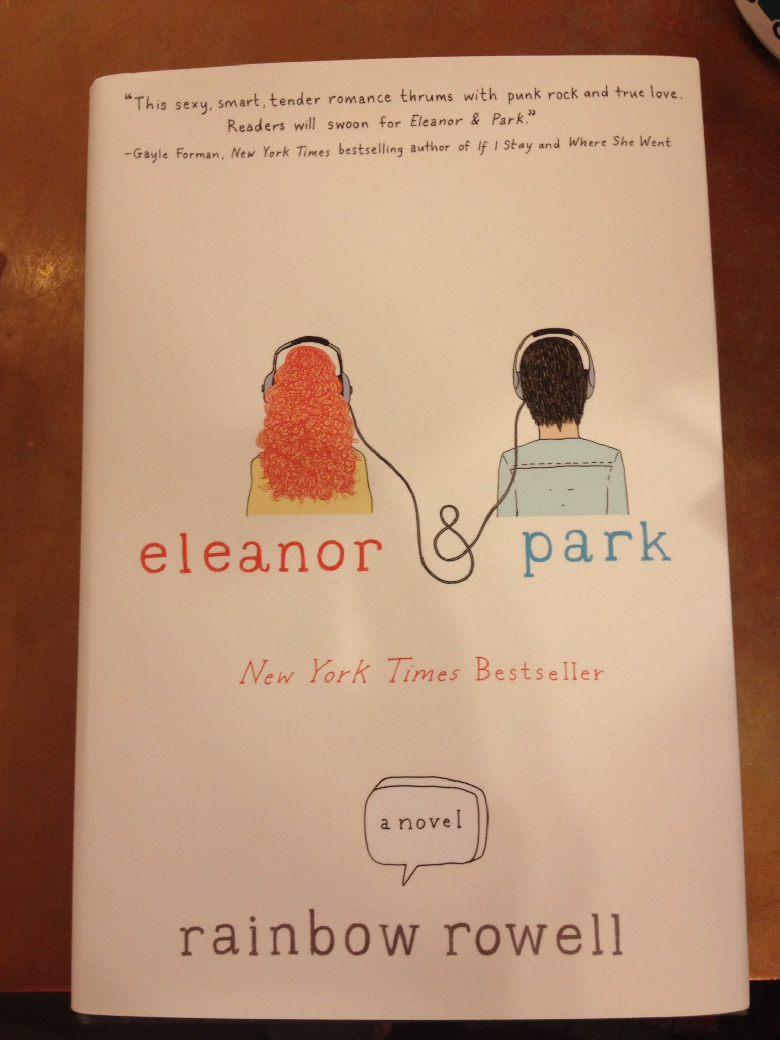 Eleanor and Park by Rainbow Rowell (2016, Hardcover)