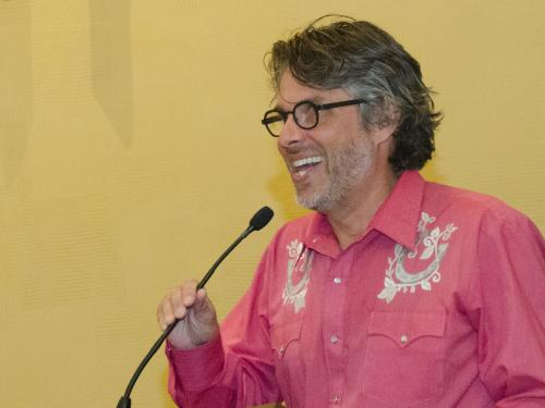 Michael Chabon reading for GGP