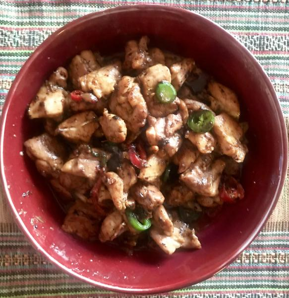 Photo of Coconut-Kissed Chicken & Chili prepared by Faith Kramer