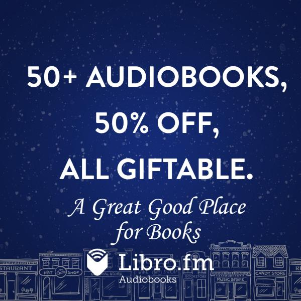 50 percent off 50 audiobooks